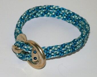 Kumihimo Corded Bracelet