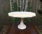Cake Stand - Cupcake Stand - Pedestal Cake Stand - Jewelry Riser - Jewelry Display - Wooden Jewelry Display - Table Centerpiece
