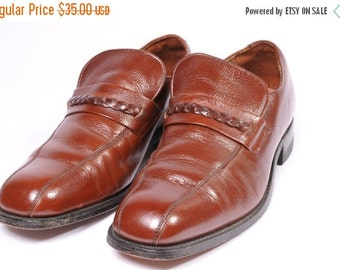 30% OFF 1970s Mens Dress Shoe Size 8.5 by Hanover