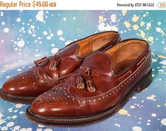 30% OFF ALAN MCAFFEE Tassel Loafers Men's Size 11 .5