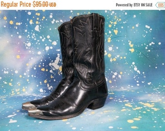 30% OFF JUSTIN Cowboy Boots Horseshoe Boot Tips Men's Size 9