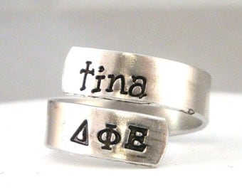 Delta Phi Epsilon Wrap Ring - Official Licensed Product for DPhiE
