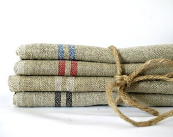 French linen table napkins hemp- priced individually