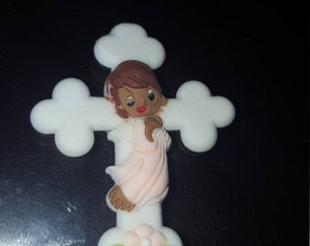 12  mini  christening  baptism  baby in a blanket for favors /capias