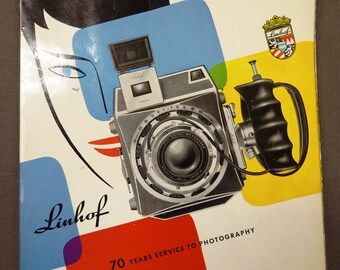 Linhof 70 Years Service to Photography Full Line Booklet (1957)