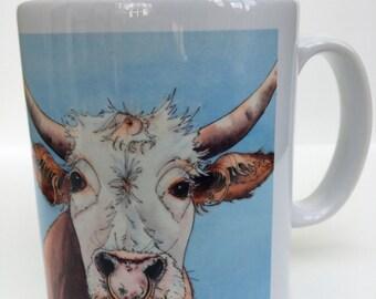 Silly Moo-  'arry ' 10 oz ceramic mug