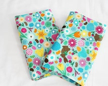 Easter Cloth Napkins - Double Sided, Thick and Large - set of 2
