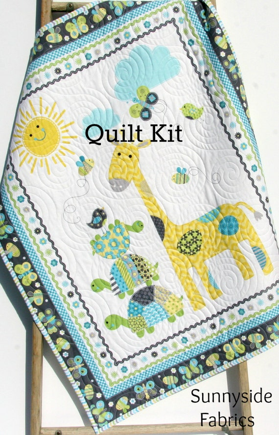 Simple Quilts Templates Quilt Kit : Quilt Kit Bundle of Love Panel Quick Easy Fun Beginner