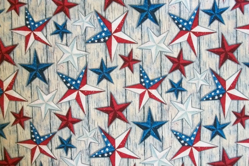 Susan winget fabric star fabric by the yard stars on for Star fabric australia