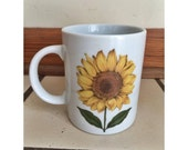 Cute Sunflower Mug