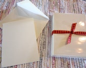 Blank Cards and Envelopes Ivory Set of 12