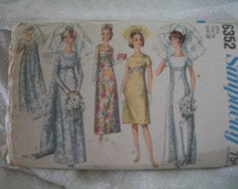 Vintage Wedding Dress Pattern