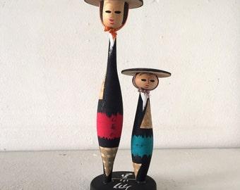 "ON SALE!Vintage Japanese folk handicraft "" yajisan kitasan """