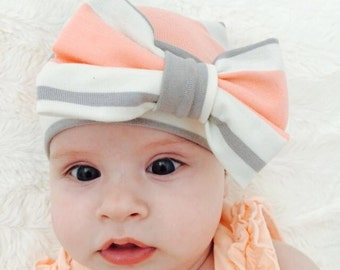 newborn hospital hat bow, baby hats, baby girl hats, newborn hat, newborn girl hat, baby hat with bow, baby girl hat with bow, kids hat