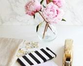Black and White Stripe Phone Case