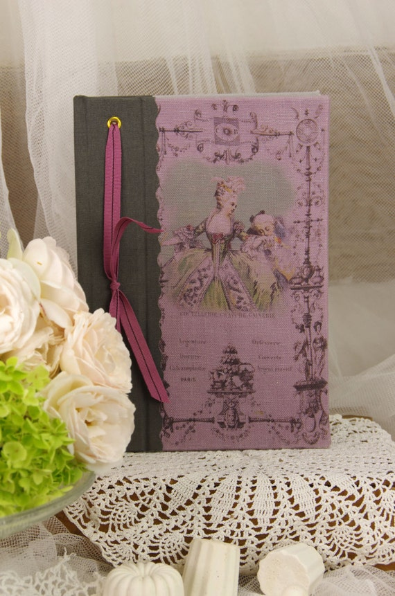 Telephone book Marie Antoinette vintage shabby chic french style castle 18 th century style Louis XVIII