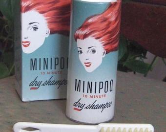 1960's Minipoo 10 Minute Dry Shampoo