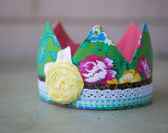 Fabric Crown - Princess Hazel