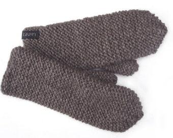 Beige Alpaca Mittens | Wool Mittens | Alpaca Wool Mittens