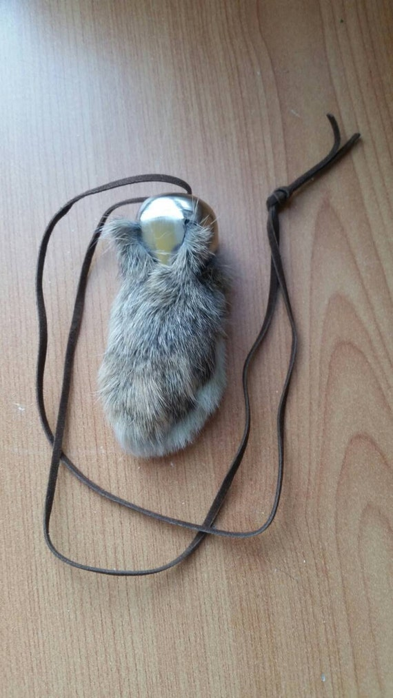 how to make lucky rabbits foot