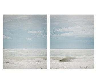 Ocean Photography Set, Ocean print set, wall art, beach decor, blue, beach, wave, breaking waves water, sea, beach decor, florida