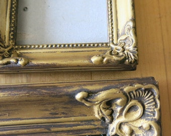 ornate frames gold frames shabby chic frames vintage frames nursery frames decor french gallery wall frames gilded frames