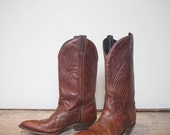Make An Offer 7 1/2 M | Ladies Basic Brown Western Boot by Code West