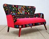 Suzani 2-seater sofa - July