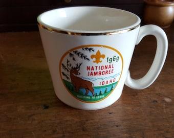 1969 Boy Scouts National Jamboree-Idaho Coffee Mug
