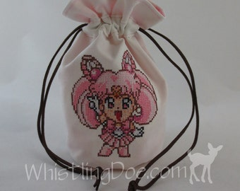 Sailor Chibi Moon Drawstring Bag