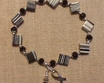 087 Carcinoid Cancer Awareness Bracelet