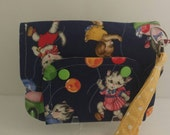 Kitty cat wristlet ready to ship cellphone wristlet