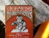 Vintage Wooden Quote Sign Vintage Bar Home Bar Cocktail Hour Alcoholic Beverage Funny Irreverent