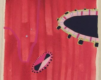 red amoeba