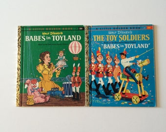 1961 Babes in Toyland Little Golden Books