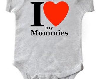 I Heart my Mommies Tee