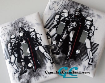 Star Wars Light Switch and Outlet Covers - Any type Pole, Rocker, Duplex, Toggle, Decorator, Combination