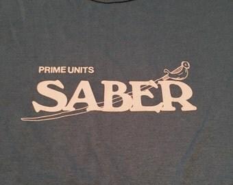 Vintage Prime Units Saber Fencing Light Blue T-Shirt