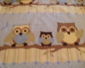 Owls! Fleece Blanket
