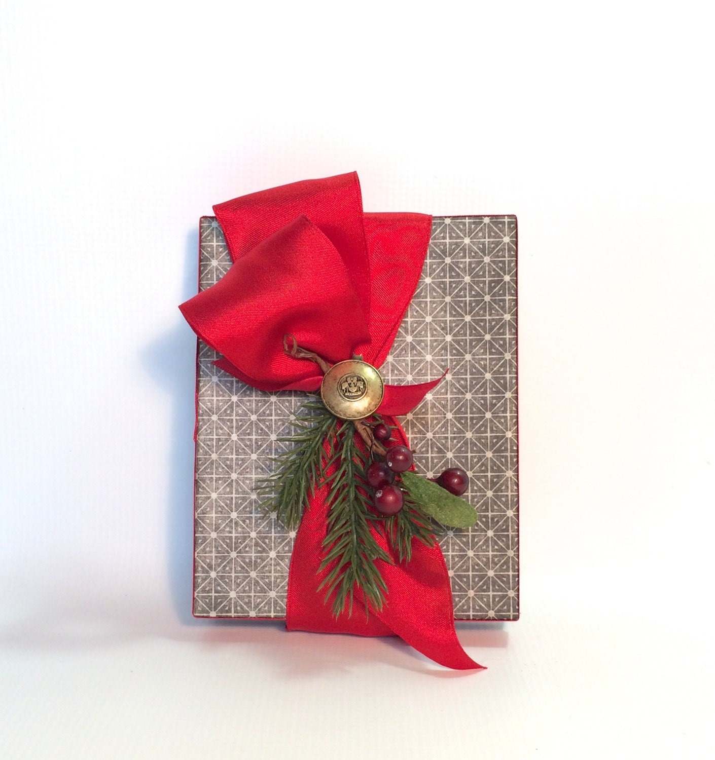 Christmas Gift Wrap Gift Cards Pre-wrapped Gift Box