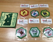 Vintage Patches, Trail Tags, Allerton Park Illinois, Rocky Mountain National Park Patches Total of 7 Patches Previously 12 Dollars ON SALE