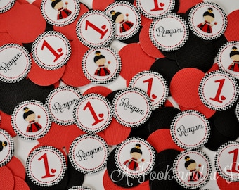 Queen of Hearts Personalized Party Confetti