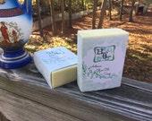 Organic Castile Soap, Handmade Castile Soap, Extra Virgin Olive Oil Soap, Honey Almond Scented EVOO Soap