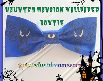 Haunted Mansion Wallpaper bowtie!!