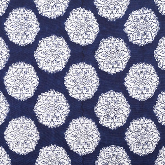 John Robshaw Textiles Ananda Pillow Cover In Indigo By