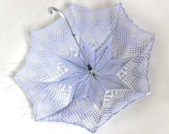 Lavender Bridesmaid Wedding Umbrella- Victorian parasol- Victorian Umbrella- Bridal umbrella- Lace Umbrella- Lavender Umbrella- Wedding Prop