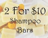 2 Shampoo Bar Deal