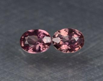 66tcw Genuine Purple Sapphire Earrings