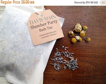 Clearance Sale Slumber Party Bath Tea with Chamomile and Lavender