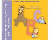 Disney Pooh Fonts Cricut Cartridge in Sealed Package Brand NEW